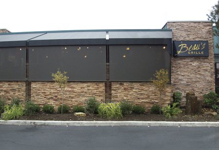 Exterior Shades for restaurants